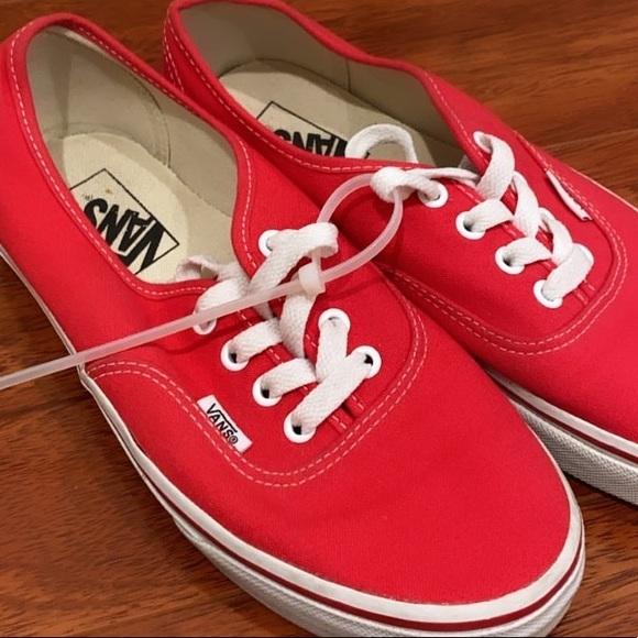 Vans Shoes | Vans Red Core Classic Low